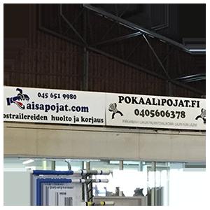Mainosteippaukset ja -kyltit - Pokaalipojat.fi • Tampere